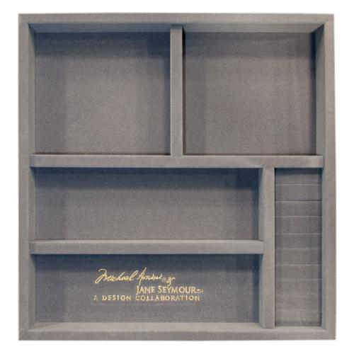Amini - Upholstered Swivel Chiffonier Lingerie Chest Living Room Storage Cabinet