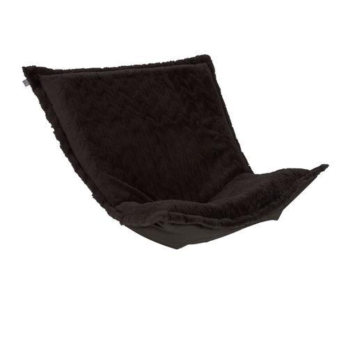 Howard Elliott - Puff Chair Cushion Angora Ebony (Cushion and Cover Only)