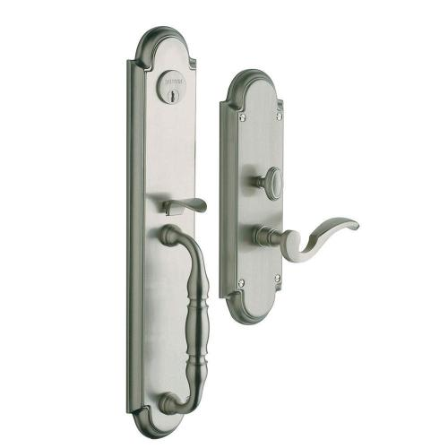 Satin Nickel with Lifetime Finish Hamilton Entrance Set