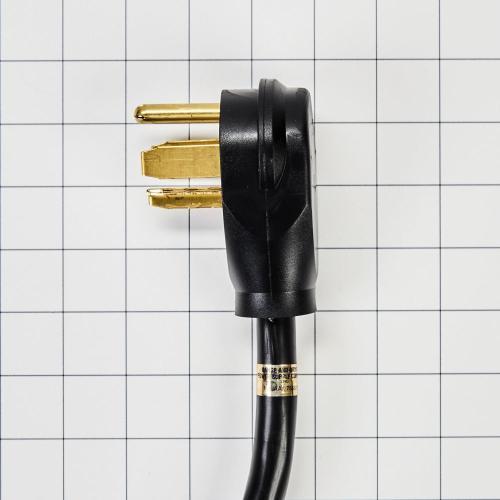 Whirlpool - 6' 4-Wire 40 amp Range Cord