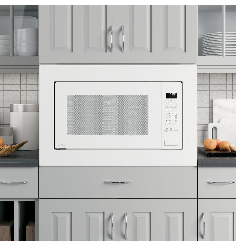 GE Profile2.2 Cu. Ft. Built-In Sensor Microwave Oven