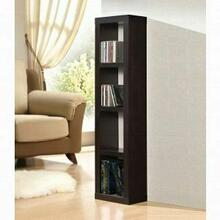 ACME Carmeno Bookcase - CD/DVD Unit - 92067 - Espresso