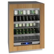 """See Details - Hre524 24"""" Refrigerator With Integrated Frame Finish (115 V/60 Hz Volts /60 Hz Hz)"""