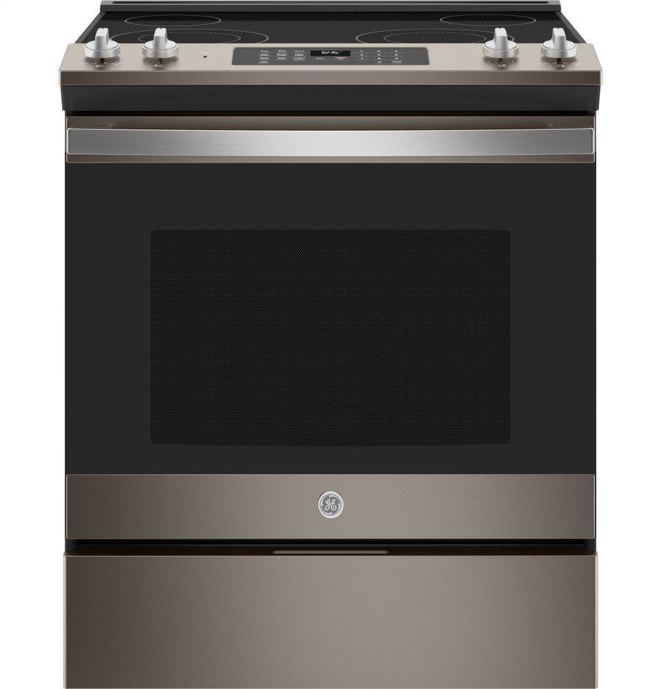 "GE30"" Slide-In Electric Range"