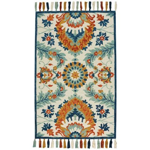 "Gypsy-Manihari Sunset Multi - Rectangle - 3'6"" x 5'6"""