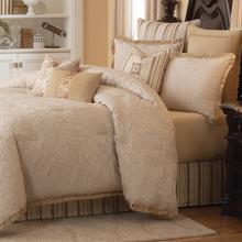 10 pc King Comforte Set Ivory