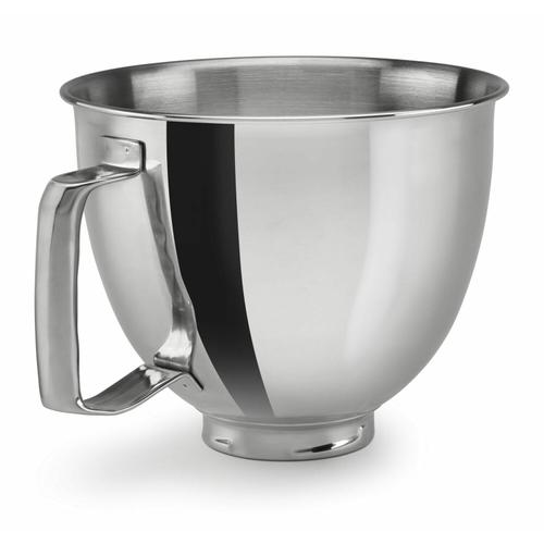 KitchenAid - 3.3 L Tilt Head Polished Stainless Steel Bowl With Handle - Other
