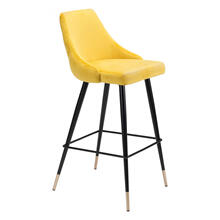 See Details - Piccolo Bar Chair Yellow