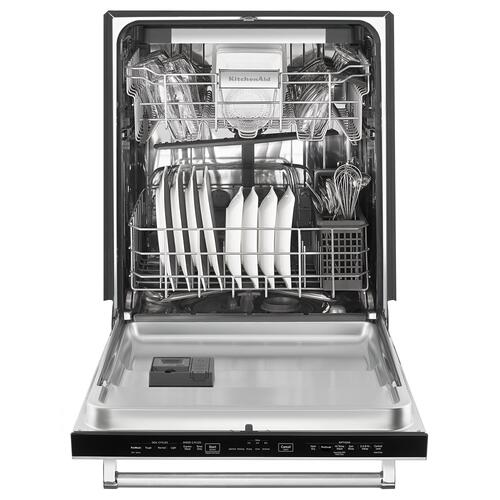 KitchenAid - 46 dBA Dishwasher with ProScrub™ Option Panel Ready