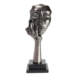 Ponder Sculpture Black