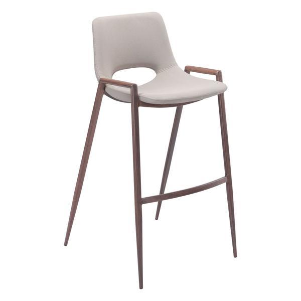 See Details - Desi Bar Chair Beige