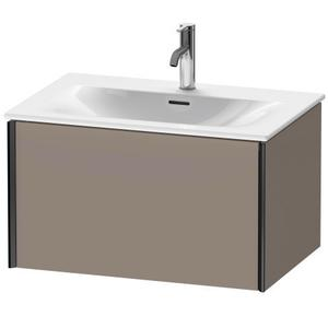 Vanity Unit Wall-mounted, Basalt Matte (decor)