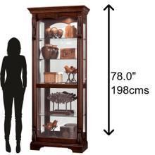 Howard Miller Bernadette Curio Cabinet 680501