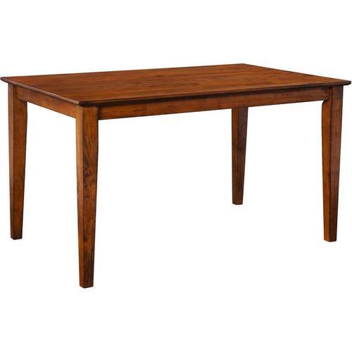 Gallery - Rectangular Table in Pecan