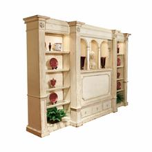 Belmont Library Single Wall Unit