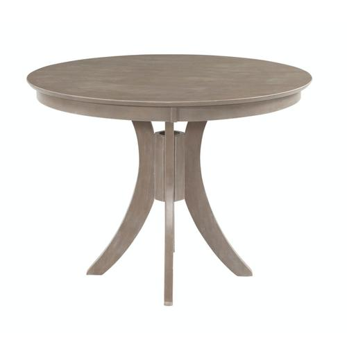 Gallery - 36'' H Siena Pedestal Table in Taupe Gray