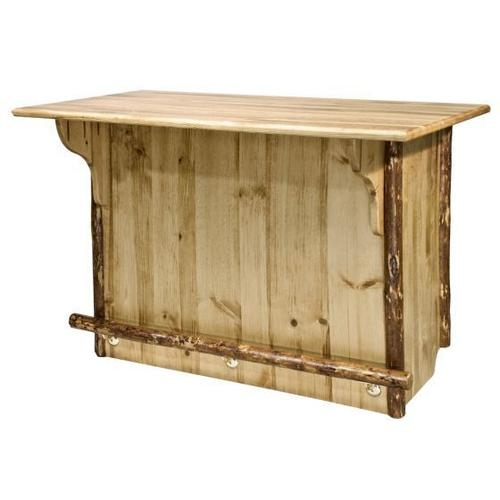 Montana Woodworks - Glacier Country Collection Deluxe Bar with Foot Rail