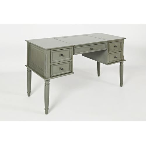 Avignon Grey Flip Top Desk