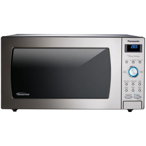 Panasonic - 1.6 Cu. Ft. Built-In/Countertop Microwave Oven with Inverter Technology™ - Stainless Steel - NN-SE782S