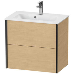 Duravit - Vanity Unit Wall-mounted Compact, Natural Oak