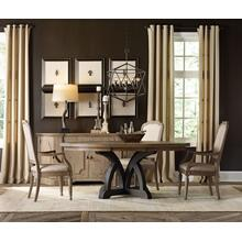View Product - Round Dining Table Top With 1-18in Leaf