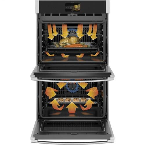 "GE Profile™ 30"" Smart Built-In Convection Double Wall Oven with Air Fry and Precision Cooking"