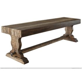Solid Wood Bench for Dining Table