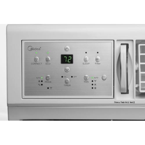 25,000 BTU SmartCool Window Air Conditioner with WiFi and Voice Control
