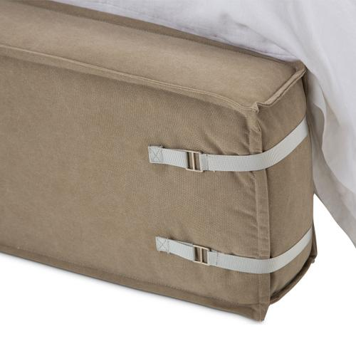 Penninsula Upholstered Bed (2 Pc)