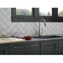 Spotshield Stainless Single Handle Pull-Down Kitchen Faucet with Touch 2 O ® and ShieldSpray ® Technologies