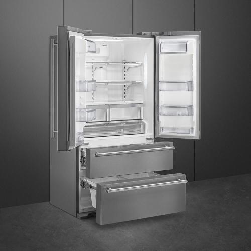 Smeg - Refrigerator Stainless steel FQ50UFXE