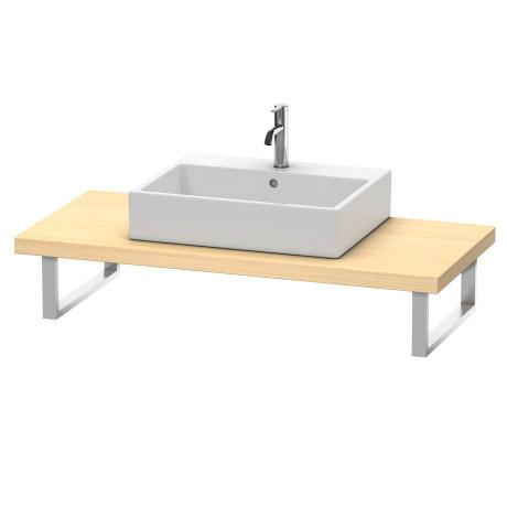 Console For Above-counter Basin And Vanity Basin, Mediterranean Oak (real Wood Veneer)