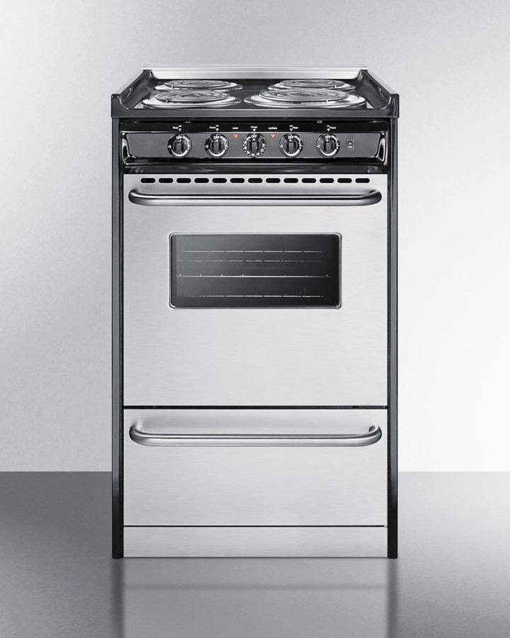 """Summit20"""" Wide Electric Coil Range"""