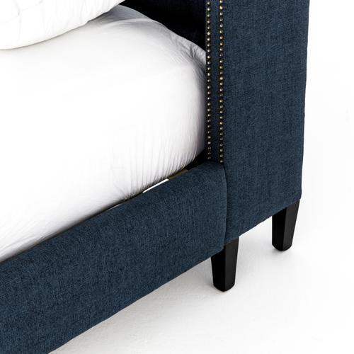 Four Hands - King Size Indigo Cover Jefferson Bed