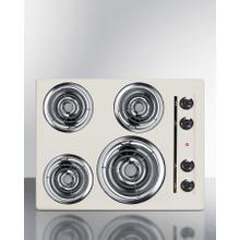 """See Details - 24"""" Wide 4-burner Coil Cooktop"""