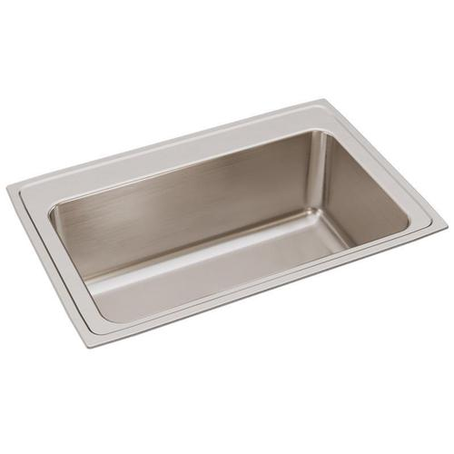 "Elkay Lustertone Classic Stainless Steel 33"" x 22"" x 11-5/8"", Single Bowl Drop-in Sink"