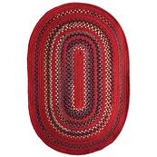 Bradford Crimson Braided Rugs