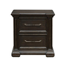 Canyon Creek Nightstand in Brown