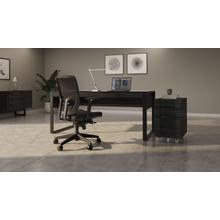 View Product - Corridor 6507 Mobile File Pedestal in Charcoal Stained Ash