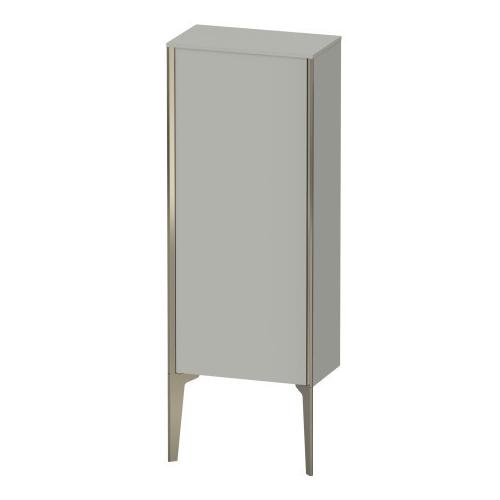 Semi-tall Cabinet Floorstanding, Concrete Gray Matte (decor)