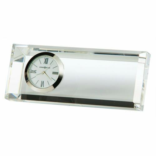 Howard Miller Prism Crystal Table Clock 645717