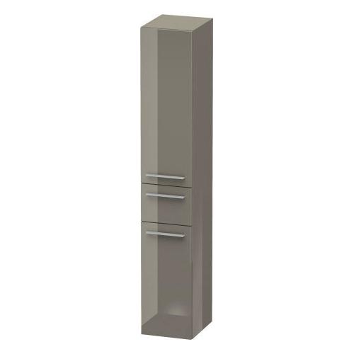 Duravit - Tall Cabinet, Flannel Gray High Gloss (lacquer)