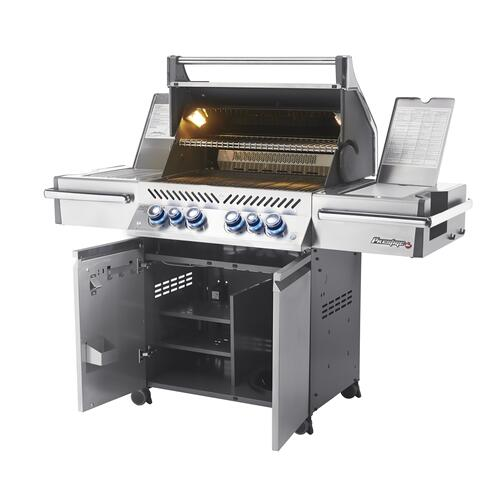 Napoleon BBQ - Napoleon's Prestige PRO Series PRO 500 with Infrared Rear and Side Burners.