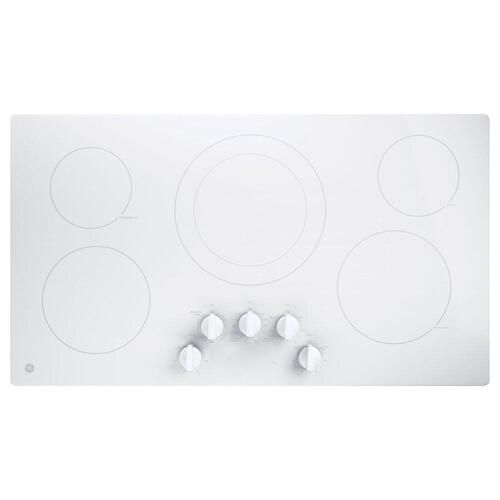 """GE Appliances - GE® 36"""" Built-In Knob Control Electric Cooktop"""