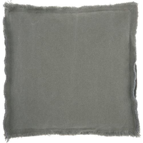 "Outdoor Pillows Nb710 Grey 18"" X 18"" X 1"" Seat Cushion"