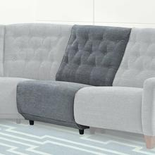 See Details - CHELSEA - WILLOW GREY Armless Chair