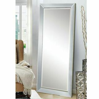 ACME Lena Accent Mirror (Floor) - 97234 - Silver