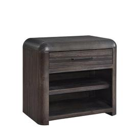 See Details - Nightstand - Distressed Java Finish