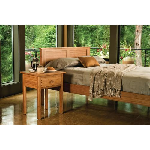 Hosta Eastern King Platform Bed, Caramelized