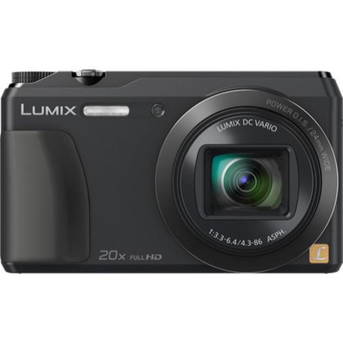 LUMIX DMC-ZS35 20X Long-Zoom Selfie Digital Camera - Black